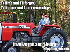 Farming is a family tradition. Happy Father's Day to the men that taught us and involved us to help keep that tradition alive. #FathersDay: Ryan Turner - Brighton, TN