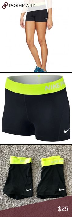 e4b658ba897b 2 Pair Nike Pro Dri Fit spandex compression shorts 2 pairs of almost new  stretchy nike