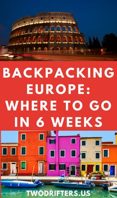 Trying to figure out where to go backpacking in Europe? Voila! Here is your perfect European backpacking itinerary. This will give you two months in Europe and includes some of the best cities to visit in Europe as well as tips for your backpacking budget and much more. Romantic Destinations, Romantic Getaways, Romantic Travel, Backpacking Europe, Europe Travel Tips, European Travel, European Honeymoons, Backpack Through Europe, Europe On A Budget