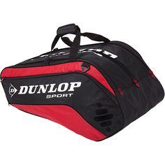 Dunlop Biomimetic Tour 10 Racquet Bag Red: Dunlop Tennis Bags