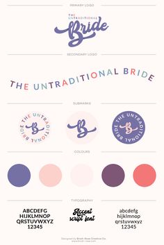 The Untraditional Bride is a genuine, sassy and confident bridal consignment service. They pride themselves of giving their customers a not-so-average bridal experience. For the Untraditional Bride. Branding design by Brodi-Rose Creative Co. Self Branding, Branding Kit, Branding Services, Branding Ideas, Corporate Branding, Corporate Design, Business Branding, Logo Design Trends, Brand Identity Design
