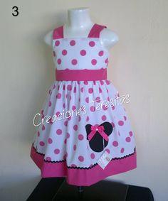Confección De Vestidos De Niñas Con Motivos De Minnie - Bs. 3.000,00 en MercadoLibre