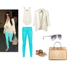 Kim Kardashian Inspired Outfit From My Polyvore :)