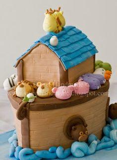 Noah's arc cake I want for Noah's 1st Birthday!