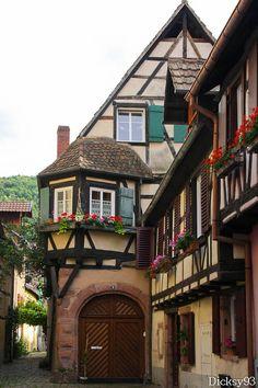 Kaysersberg, Haut-Rhin (France) - Crédit Photo : Dicksy93 via Flickr