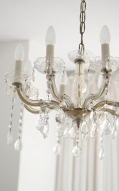 "This chandelier is from our feature ""Picture Perfect"""