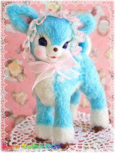 Pastel baby blue bambi ♡*。
