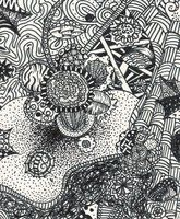 Zentangle by ~AbbiDaSquirrel on deviantART