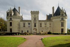Château de Brézé ~ Maine-et-Loire ~ Pays de la Loire ~ France ~ It was built in the 11th century, then rebuilt for King Charles VII in the 15th century, and owned by René de Cossé, who the king named as governor of Anjou and Maine. The Chateau is haunted by a 14th century former owner's wife and lover, whom the owner caught and killed when their tryst became known. The owner, Jacques de Breze, left the castle after being scared by the moaning of the lovers' ghosts, and sold it soon after.