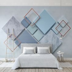 Custom Photo Wallpaper Modern Geometric Marble Wall Murals Living Room Bedroom Backdrop Wall Papers For Walls 3 D Home Decor - AliExpress - Detail Feedback Questions about Custom Photo Wallpaper Modern Geometric Marble Wall Murals Livin - Living Room Bedroom, Living Room Decor, Bedroom Decor, Bedroom Wall Designs, Bedroom Kids, Wall Paper For Bedroom, Kids Room, 3d Wall Murals, Mural Art