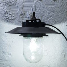 http://www.neukolln.es/shop/ Check our online store! PENDANT INDUSTRIAL LAMP BLACK METAL AND BLACK CABLE SIZE:  Ø 37 CM