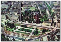 Warszawa - plac Narutowicza (lata 70. XX w.)