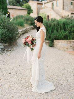 Photography: Sarah Kate, Photographer - http://www.stylemepretty.com/portfolio/sarah-kate-photographer Floral Design: Fiorista La Gardenia - http://www.stylemepretty.com/portfolio/fiorista-la-gardenia Wedding Dress: Allure Bridal - http://www.stylemepretty.com/portfolio/allure-bridal   Read More on SMP: http://www.stylemepretty.com/2015/09/29/tuscany-outdoor-spring-wedding/
