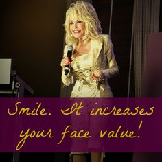 Smile increases your face value
