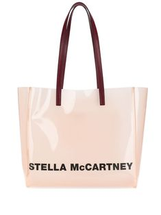 Stella Mccartney Monogram Small Tote Bag In Pink Lee Radziwill, Small Tote Bags, Large Bags, Valentino Garavani, Jil Sander, Emporio Armani, Acne Studios, Stella Mccartney, Play Hearts