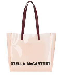 Stella Mccartney Monogram Small Tote Bag In Pink Lee Radziwill, Small Tote Bags, Large Bags, Valentino Garavani, Jil Sander, Emporio Armani, Acne Studios, Stella Mccartney, Prada