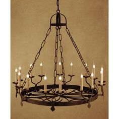 See the Ellington Candle-Style Chandelier. Find luxury home lighting online. Lantern Chandelier, Rectangle Chandelier, Wagon Wheel Chandelier, Chandelier Shades, Lantern Pendant, Chandelier Lighting, Wrought Iron Chandeliers, Ceiling Lights, Candles