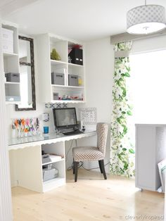 office-craft room @cleverlyinspired (2)