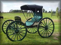 Justin Carriage Works - Horse Buggy Queens Phaeton