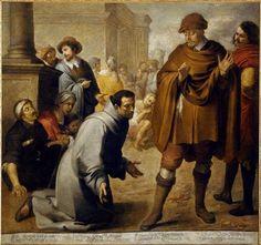 Murillo. 'San Salvador de Horta y el inquisidor de Aragón'Musée Bonnat, Bayonne.