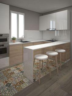 25 idee di piastrelle Patchwork | Cucina // Kitchen Ideas ...