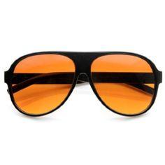 zeroUV® - Retro 80s Tear Drop Plastic Aviator Sunglasses w/ Blue Blocking Lens - Listing price: $30.00 Now: $4.22