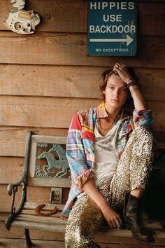 Daria Werbowy x Elle France