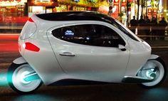 Lit Motors C1 Gyroskopisches Zweirad Elektroauto - Technologie ähnlich dem Segway