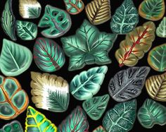 Hey, I found this really awesome Etsy listing at https://www.etsy.com/listing/98138581/polymer-clay-tutorial-leaf-canes
