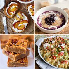 Crostini - A Cozy Kitchen. • Blueberries 'n' Cream Amaranth Porridge ...