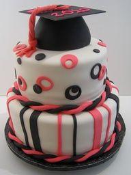 Graduation party cake.