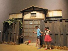 """「すべてが大きく見えたころ」""""Time when Everything Seemed Bigger""""  From """"Hamamatsu Diorama Factory""""...Hamamatsu, JAPAN  www.hamamatsu-diorama.com"""