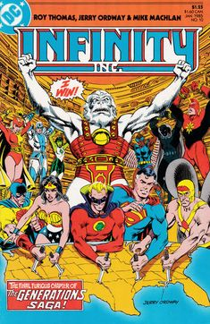 Infinity, Inc. #10 (1984 series) - cover by Jerry Ordway