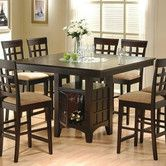 Found it at Wayfair - Melvin Counter Height Dining Table