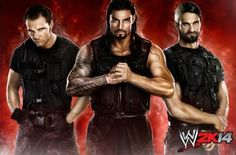WWE 2K14 Coverage: Full Roster Revealed During WWE Monday Night Raw | EGMNOW - The Shield