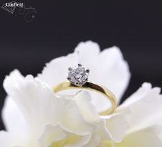 Our stunning six claw solitaire, by Clayfield Jewellery in Nundah Village - North Brisbane. Fine Jewelry, Jewelry Making, Jewellery, Brisbane, Diamond Engagement Rings, Heart Ring, Wedding Rings, Jewels, Jewerly