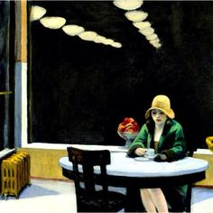 edward hopper automat painting & edward hopper automat paintings for sale. Shop for edward hopper automat paintings & edward hopper automat painting artwork at discount inc oil paintings, posters, canvas prints, more art on Sale oil painting gallery. Edward Hooper, Edward Hopper Paintings, Oeuvre D'art, American Artists, American Realism, Les Oeuvres, Light In The Dark, Painting & Drawing, Art History