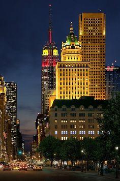 The Empire State / Manhattan - New York