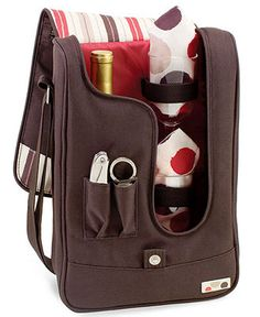 Every hour is happy hour on the beach Picnic Time Wine Tote BUY NOW!
