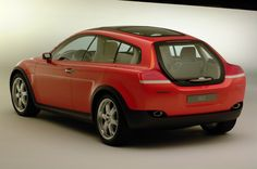 History of the Volvo C30 - 2001 Volvo Safety Concept Car