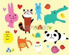 loving-animal-sticker-image.jpg (400×321)