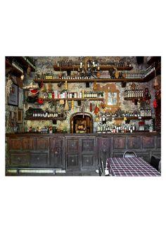 a rustic mexican tequila bar in guanajuato, mexico
