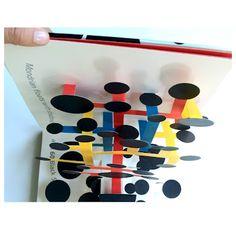 "MESy design David A carter pop up book for kids dots"" David, Up Book, Altered Books, Pop Up, Childrens Books, Creative, Paper Art, Designer, Triangle"