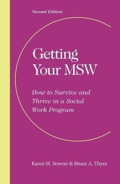 How to go about a Masters in Social Work?