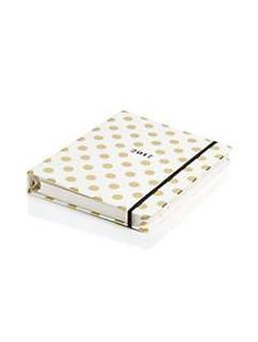 large gold dots 17 month agenda by kate spade new york