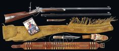 """*TOM SELLECK'S SHILOH SHARPS RIFLE FROM THE MOVIE """"QUIGLEY DOWN UNDER"""", PROBABLY THE MOST FAMOUS MOVIE GUN IN HISTORY."""