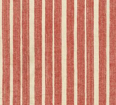 York Stripe from Fermoie #textiles #fabric #cotton #orange #stripe