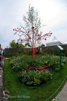 So Bloom in the park is on in Dublin at the moment, Ireland& largest gardening, food and family event that takes place every June bank holi. Stone Art, Art Blog, Garden Art, Gardening Tips, Sculpture Art, Sidewalk, Bloom, In This Moment, Landscape