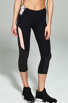 ELLESPORT capris give you a sporty yet feminine approach to performance wear Athleisure Trend, Sport Wear, Lineup, Active Wear, Capri Pants, Feminine, Sporty, Seasons, Fitness