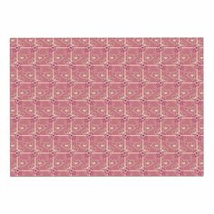 KESS InHouse Alisa Drukman 'Love/Pink Abstract Dog Place Mat, 13' x 18' >>> Special dog product just for you. See it now! : Dog food container